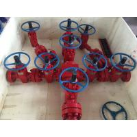 China 3000 Psi  Pressure Oil & Gas Christmas Tree , Oil Wellhead Equipment  Dual Wing on sale