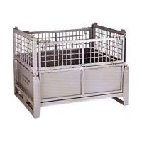 High quality collapsible metal wire box mesh cage