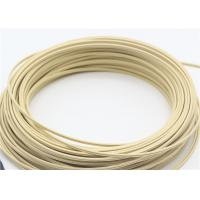 Best Anti - Corrosion 3*2mm Indoor Fiber Cable , Butterfly Flat Ivory Fiber Drop Cable wholesale