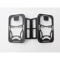 Best Iron Man Taillight cover for jeep wrangler JK 07+ taillamp cover offroad accessories wholesale