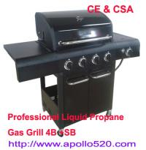 Best 4 burner BBQ Outdoor Gas Grills wholesale
