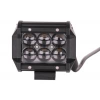 Best 4 Inch Ip67 18w Vehicle LED Light Bar , CE Off Road Led Car Work Light wholesale