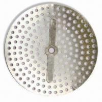 Drain Protector, Made of Rust Resistant Aluminum, Fits 3-1/16 Inches Diameter Openings