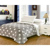 Best Elegant Home Textile Flannel Fleece Blanket Around 1cm Thickness With ISO9001 Certificated wholesale