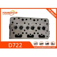 Cheap Casting Iron Auto Cylinder Heads / Kubota D722 D67 Car Engine Parts 1G958-03044   1668903049   16689-03049 for sale