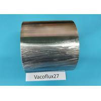 Buy cheap Vacoflux27 Soft Ferromagnetic Materials , Cold Rolled Strip Soft Magnetic Iron from wholesalers
