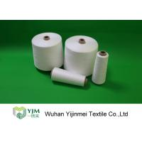 Best 42/2 Paper Cone Ring Spinning Recycled Polyester Yarn Large Cone 1.67KG wholesale