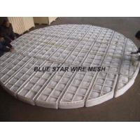 Best PP / Nylon Knitted Wire Mesh Demister Pad For Filtering And Separating In Recation Tower wholesale