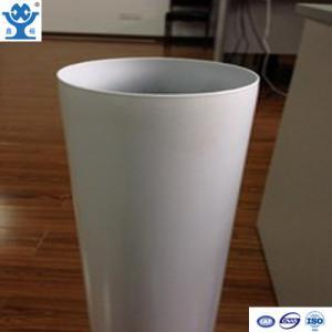 Best Competitive price extruded white powder coated aluminum tube wholesale