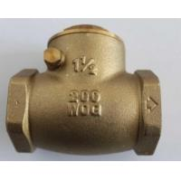 China Water Supply Drainage System Forged Steel Valves , Brass Check Valve on sale
