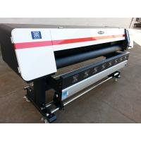 Best 1.8m Large Format Eco Solvent Printer with Epson DX7 Heads for Vinly Sticker Flex Banner Printing wholesale