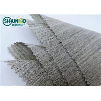 Best Soft Woven Wool Light Hair Bow Interlining Canvas Fabric For Garment Overcoat wholesale