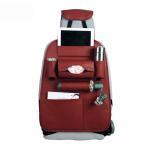 Best Durable Foldble Car Additional Accessories PU Leather Car Back Seat Organizer Multi Pocket wholesale