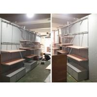 Best Lady Retail Clothing Store Shelves With Wooden Stainless Steel Material wholesale