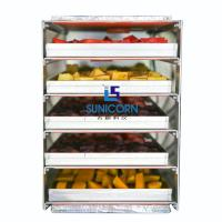 Best High Efficiency Industrial Food Dehydrator Machine Durable For Potato Chips wholesale