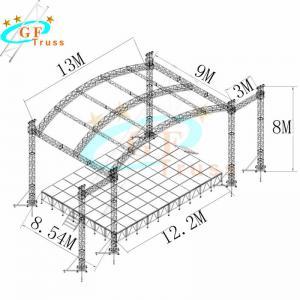 Best 520*760mm Aluminum Arch Truss For Concerts Events wholesale