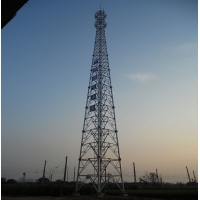 Galvanized Electric Line Iso Q345 15m Angle Steel Tower 4 Legged
