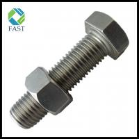 China Stainless Steel/Carbon Steel Hex Bolts & Nuts Zinc Plated Hot DIP Galvanized Hex Nut and Bolt (DIN933 AND DIN934) on sale