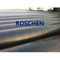 Best Slotted Pipe , Carbon Steel Tube , Oil Screen Tube Control Sand Coring Drilling wholesale