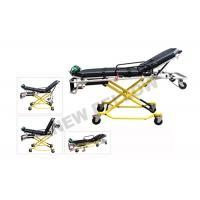 Best NEW ! Multi - Lever Aluminum Alloy X - frame first aid stretcher chair with 35° Knee Angle wholesale