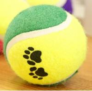 Best paw print tennis ball-2pack wholesale