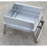 Best Pass LFGB test Stainless steel charcoal portable folding barbecue grill wholesale