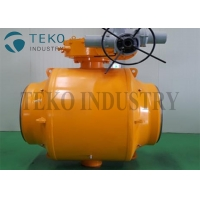 Best Full Welded Body 1 Pieces Ball Valve Steel 20 Soft Seat For Gas wholesale