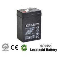 Best 6v 4ah Rechargeable Emergency Light Lead acid battery for UPS wholesale