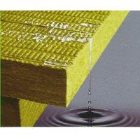 Cheap Rigid Rockwool Insulation Board , High Strength Roofing Insulation Board for sale