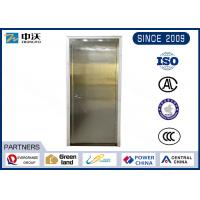Environmental Stainless Steel Fire Rated Doors With Anti Fire Perlite Cotton Plate
