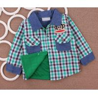 China Cotton Childrens Clothes , 2 Years Boys Bodiness Shirt Long Sleeve on sale