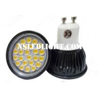 China GU10 MR16 led downlights 24pcs SMD5050 3.5W 60degree Beam angle Aluminum Alloy on sale