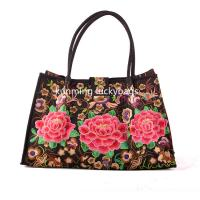 Best National trend hmong embroidery handbag chinese fashion ladies handbags wholesale