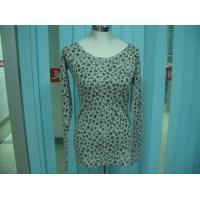Best Cotton Blends Ribbed Fashion Pullover Sweaters For Young Girls Full Stars Printing wholesale
