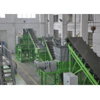 China 1000 Kg / H Waste Tyre Recycling Machine , Big Fat Tire Recycling Production Line on sale