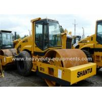 Best Shantui SR16 single / drum road roller with 112kW rated power and 10000kg Front wheel weight wholesale