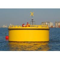 Best Marine Surface Buoyancy Steel Mooring Buoy With Quick Release Hook Shackle wholesale