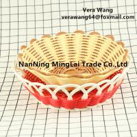 Best Hand weaving Rattan eco-friendly fruit and snack basket wholesale