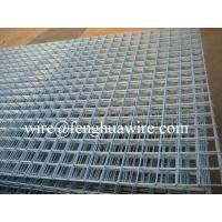 China Hot-dip Zinc Plating Welded Wire Mesh Panels pass Iso9001:2000 certification on sale