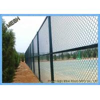 China 10 FT Length Residential Chain Link Security Fence Mesh 1.0-3.0mm Wire Diameter on sale