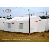 China Small tent with PVC cover and aluminum frame used for disaster relief Tents on sale