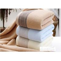 China Soft Durable Household Terry Cotton Bath Towels Super Absorbent on sale