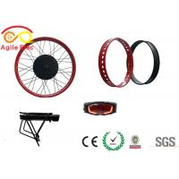 Cheap 500W Hub Wheel Fat Tire Electric Bike Conversion Kit With Star One Type Battery for sale