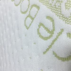 Best Soft Bamboo Fiber Air Layer Fabric Jacquard 60% Polyester / 40% Bamboo Fiber wholesale
