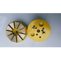 China 2 Pin 3 Inches  Concert Grinding Disc 10 Seg  For Floor Grinding Machine on sale