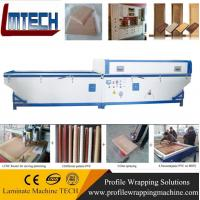 Best MDF front kitchen cabinet door panels vacuum membrane press machine wholesale