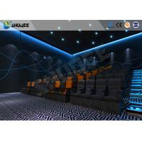 Best ISO Certificate 4D Dynamic Cinema Equipment With Pneumatic Customize Motion Chairs wholesale