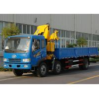 Buy cheap High Quality Commercial Knuckle Boom Truck Mounted Crane , 6300kg Weight for Lifting product