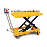 Best High Capacity Warehouse Material Handling Equipment Electric Hydraulic Scissor Lift Table wholesale