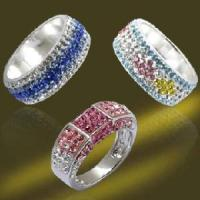 Best 925 Silver Jewelry Ring Crystal Ring Finger Rings 2013 New Product (RSR3956) wholesale